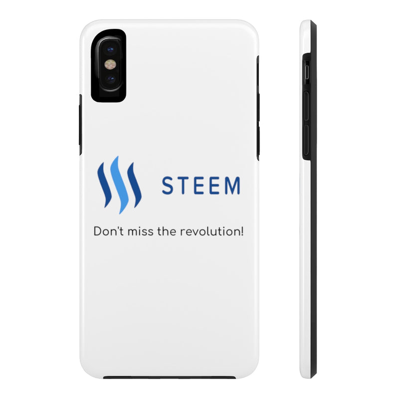 Steem don't miss the revolution - Phone Cases