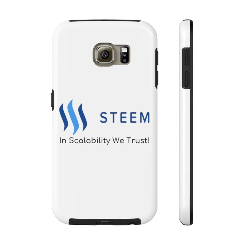 Steem in scalability we trust - Phone Cases