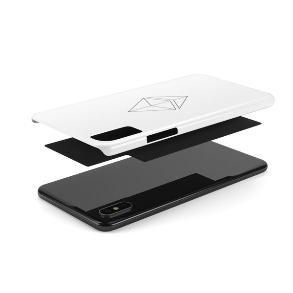 Ethereum line design - Case Mate Slim Phone Cases