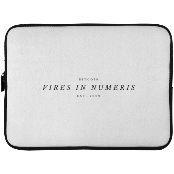 Vires in numeris - Laptop Sleeve - 15 Inch