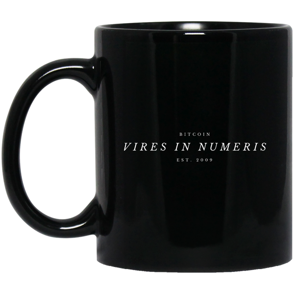 Vires in numeris - 11 oz. Black Mug