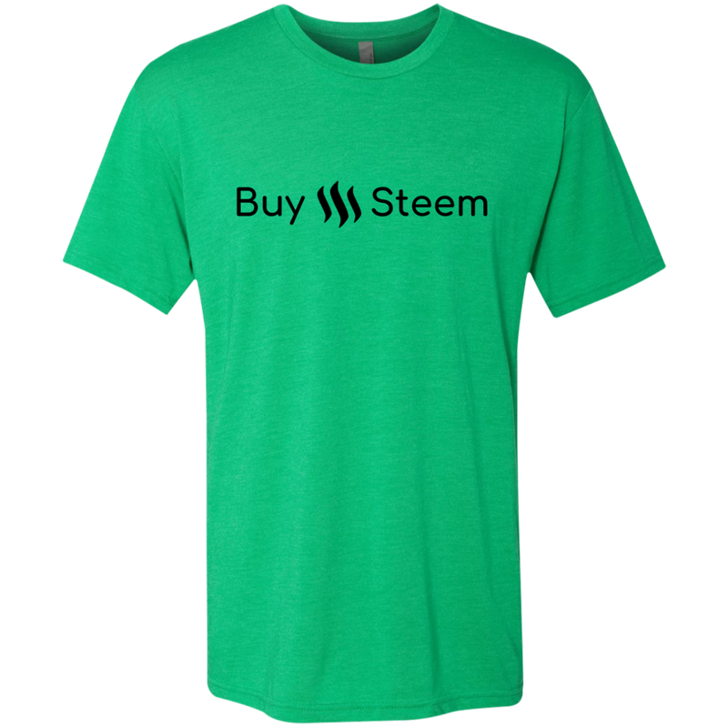 wre Buy Steem, Thank Me Later - Men's Triblend T-Shirt