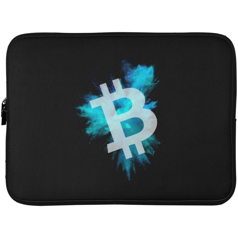 Bitcoin color cloud - Laptop Sleeve - 15 Inch