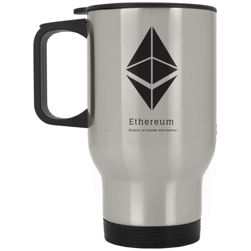 Buterin, co-founder and inventor - Silver Stainless Travel Mug