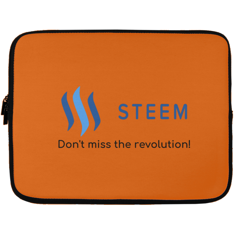 Steem don't miss the revolution - Laptop Sleeve - 13 inch