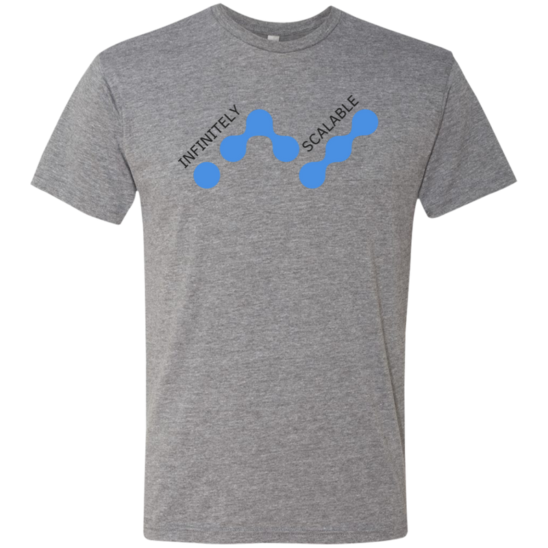 Infinitely scalable - Men's Tri-Blend T-Shirt