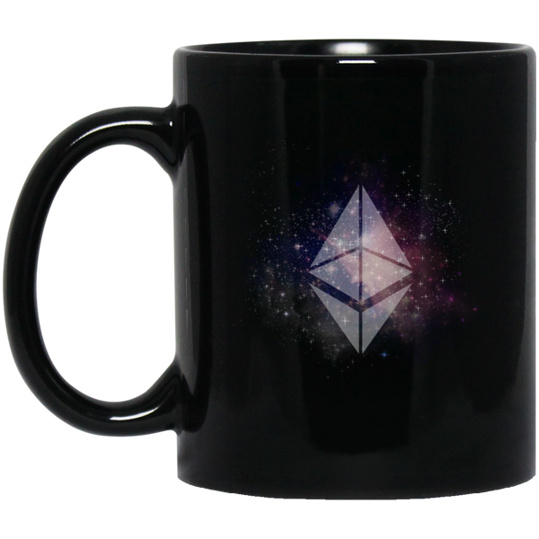 Ethereum universe - 11 oz. Black Mug