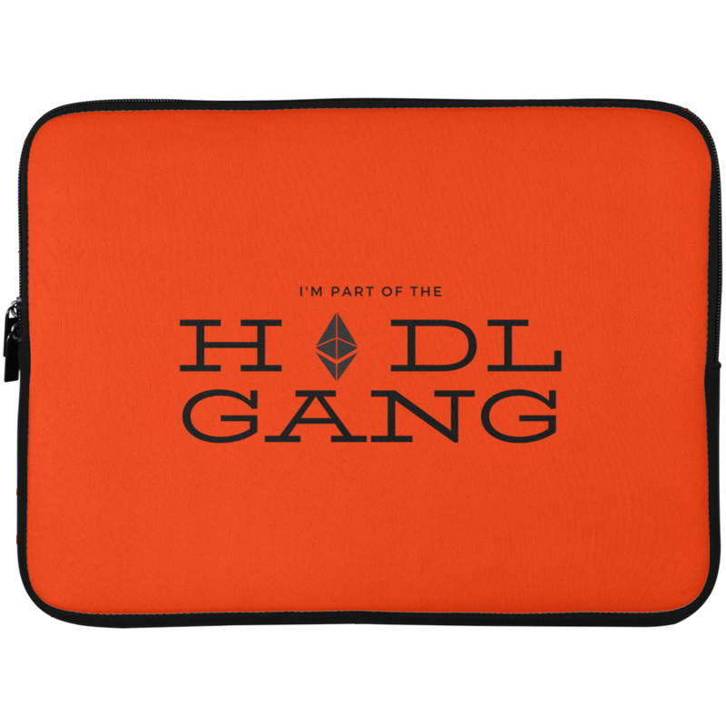Hodl gang (Ethereum) - Laptop Sleeve - 15 Inch