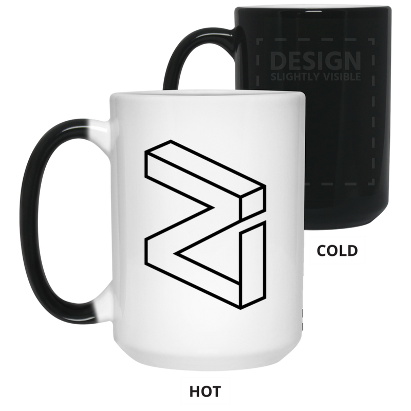 Zilliqa - 15 oz. Color Changing Mug
