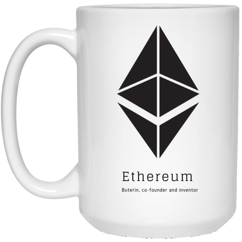 Buterin, co-founder and inventor - 15 oz. White Mug