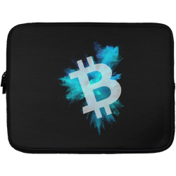 Bitcoin color cloud - Laptop Sleeve - 13 inch