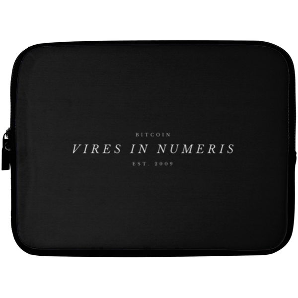 Vires in numeris - Laptop Sleeve - 10 inch