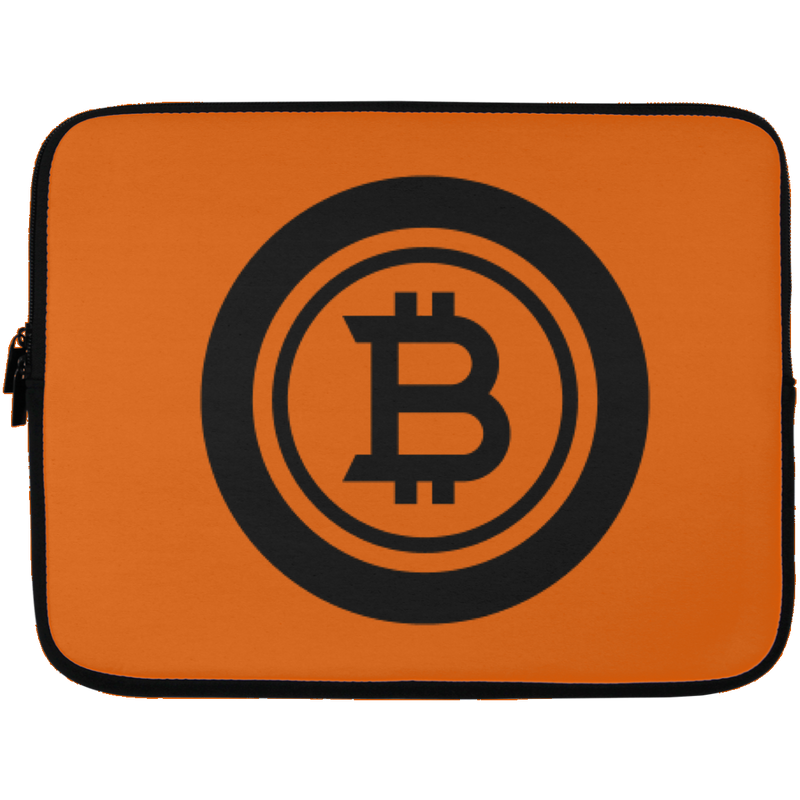 Bitcoin black - Laptop Sleeve - 13 inch
