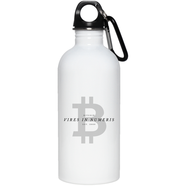 Vires in numeris - 20 oz. Stainless Steel Water Bottle