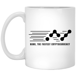 Nano, the fastest - 11oz. White Mug