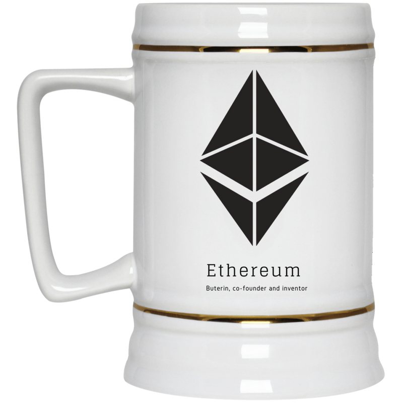 Buterin, co-founder and inventor - Beer Stein 22oz.