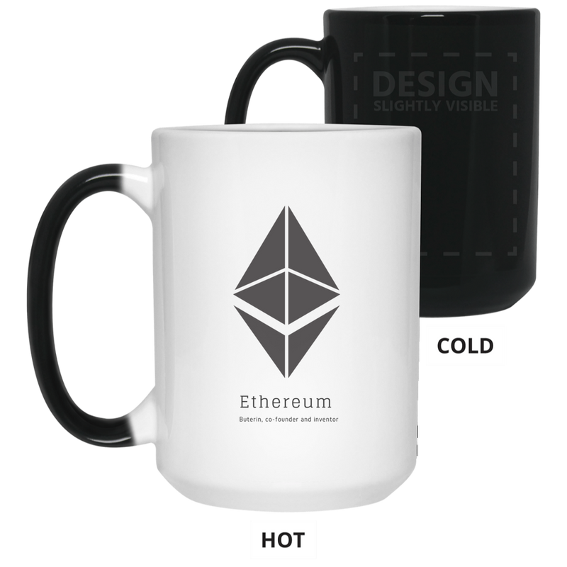 Buterin, co-founder and inventor - 15 oz. Color Changing Mug