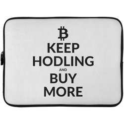 Keep Hodling - Laptop Sleeve - 15 Inch