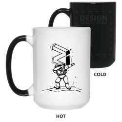 Zilliqa dab - 15 oz. Color Changing Mug