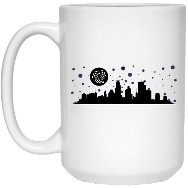 Iota city - 15 oz. White Mug