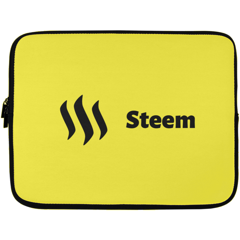Steem Black - Laptop Sleeve - 13 inch