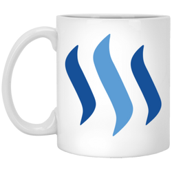 Steem - 11 oz. White Mug