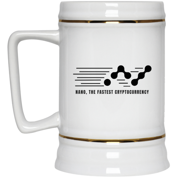 Nano, the fastest - Beer Stein 22oz.