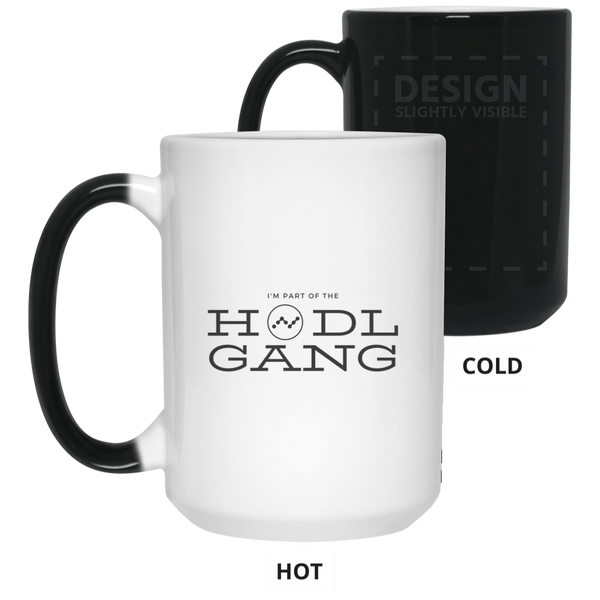 Hodl gang (Nano) - 15 oz. Color Changing Mug
