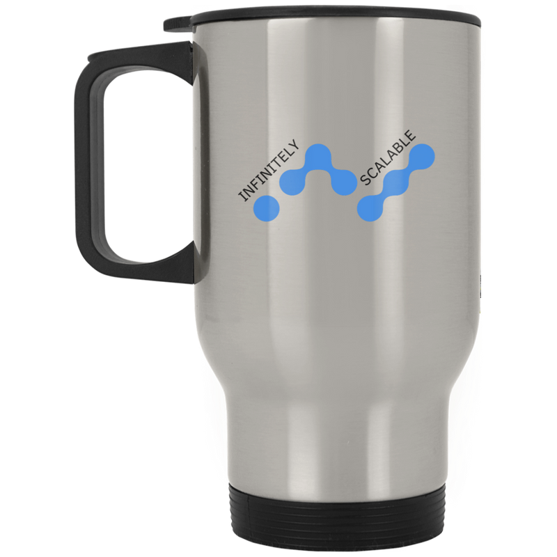 Infinitely scalable - Silver Stainless Travel Mug