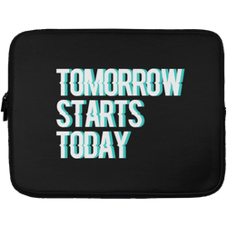 Tomorrow starts today (Zilliqa) - Laptop Sleeve - 13 inch