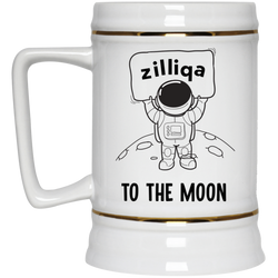 Zilliqa to the moon - Beer Stein 22oz.