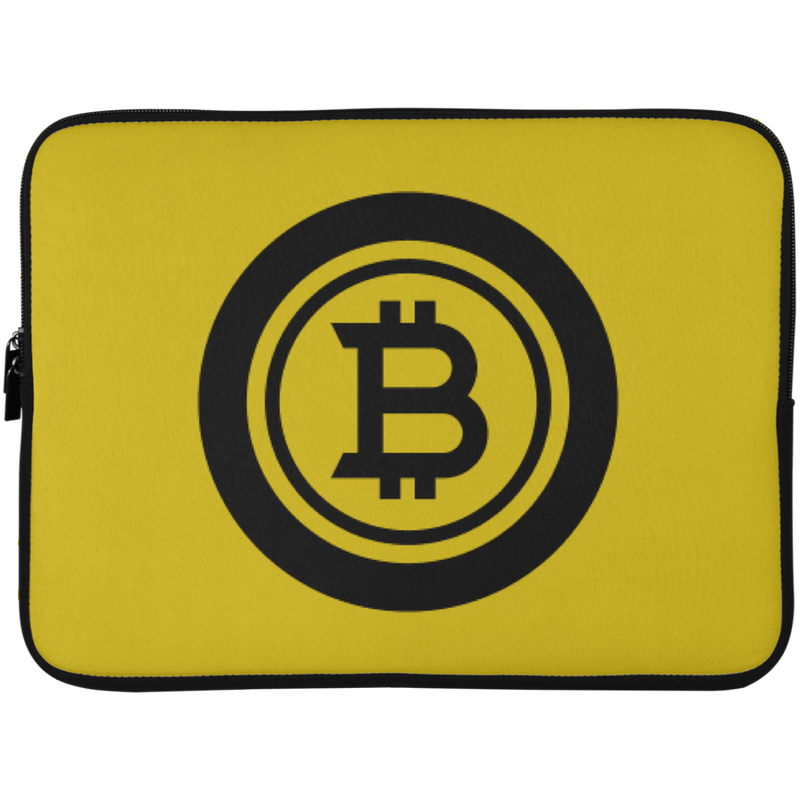 Bitcoin black - Laptop Sleeve - 15 Inch