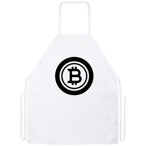 Bitcoin black - Apron