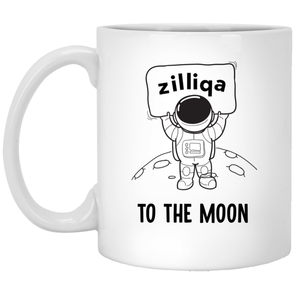 Zilliqa to the moon - 11 oz. White Mug