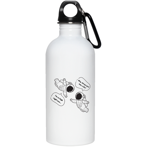 Zilliqa astronauts - 20 oz. Stainless Steel Water Bottle