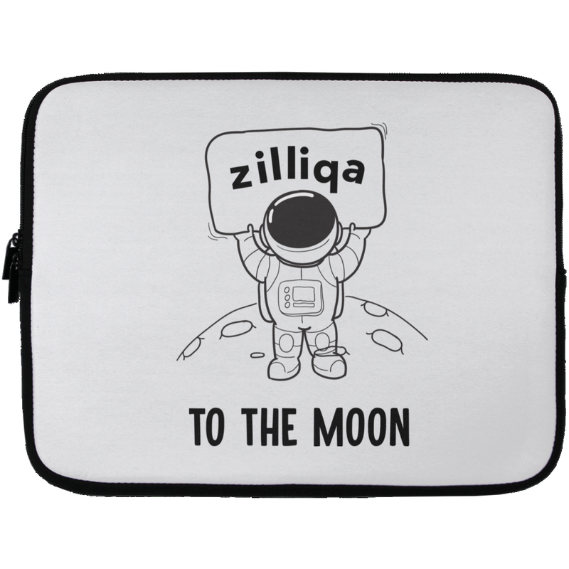 Zilliqa to the moon - Laptop Sleeve - 13 inch