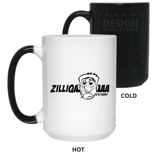 Zilliqans - 15 oz. Color Changing Mug