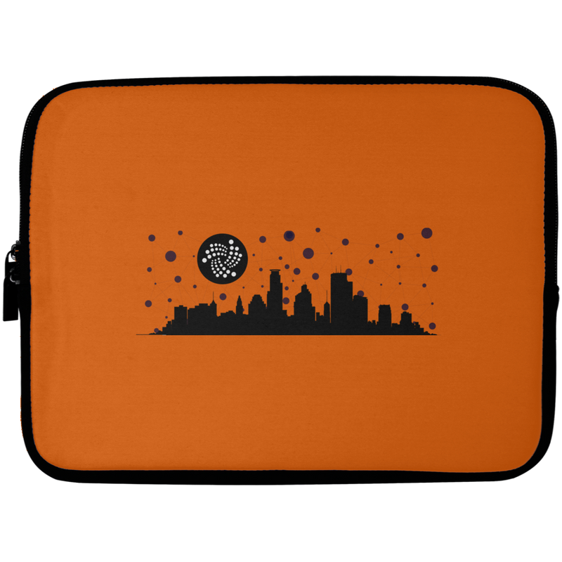 Iota city - Laptop Sleeve - 10 inch