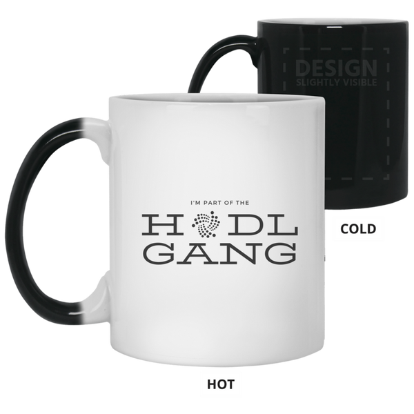 Hodl gang (Iota) - 11 oz. Color Changing Mug