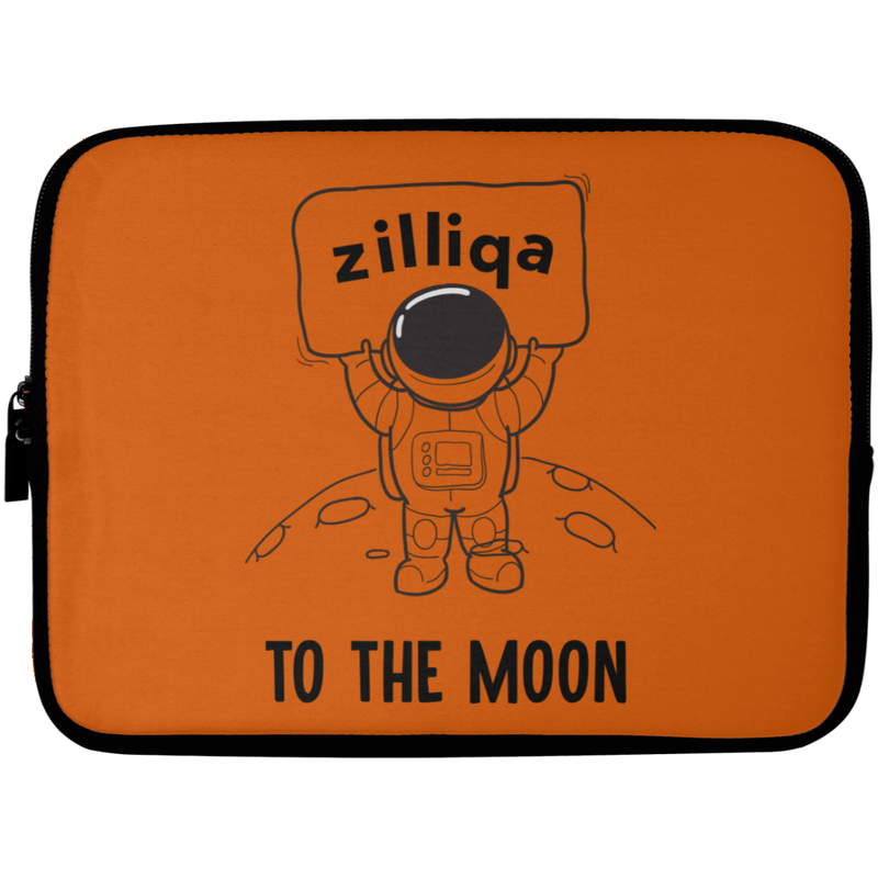 Zilliqa to the moon - Laptop Sleeve - 10 inch