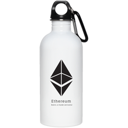 Buterin, co-founder and inventor - 20 oz. Stainless Steel Water Bottle