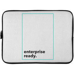 Enterprise Ready (Zilliqa) - Laptop Sleeve - 15 Inch