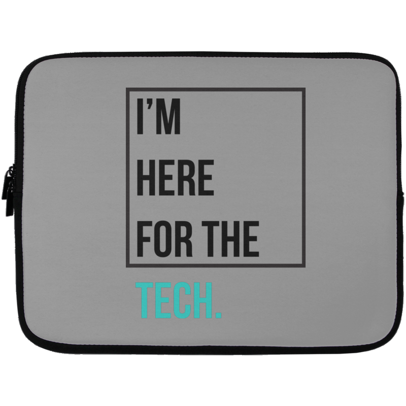 I'm here for the tech (Zilliqa) - Laptop Sleeve - 13 inch