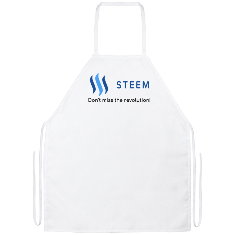 Steem don't miss the revolution - Apron