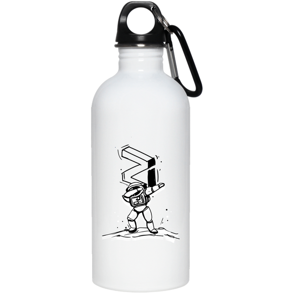 Zilliqa dab - 20 oz. Stainless Steel Water Bottle