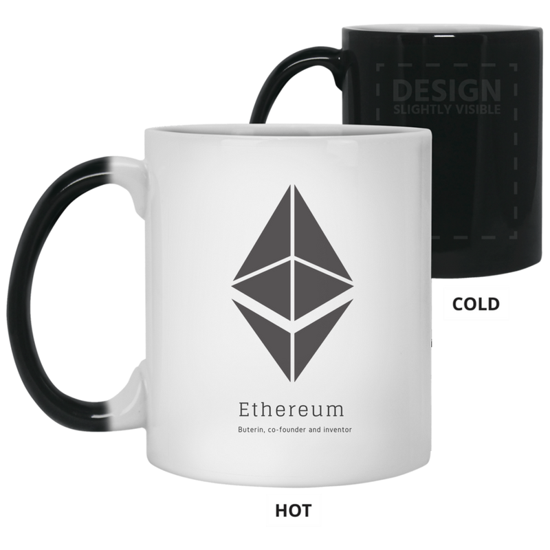 Buterin, co-founder and inventor - 11oz. Color Changing Mug