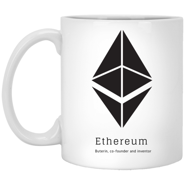Buterin, co-founder and inventor - 11oz. White Mug