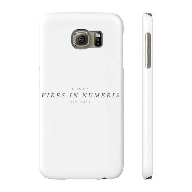 Vires in numeris - Case Mate Slim Phone Cases