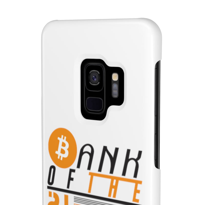 Bank of the 21. century - Case Mate Slim Phone Cases