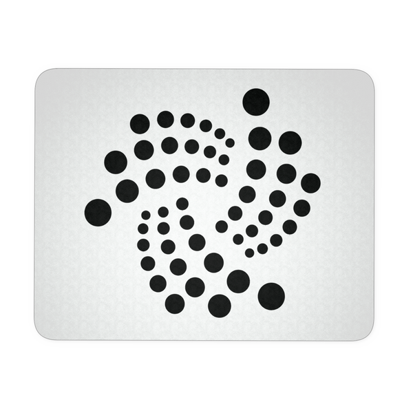 Iota floating design - Mousepad